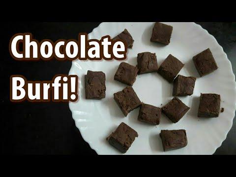 Chocolate Burfi!