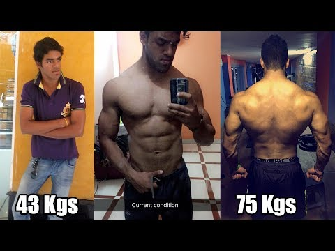 Nikhil Nautiyal 4 Year Natural Body Transformation