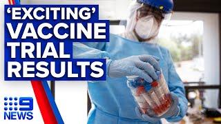 Coronavirus Exciting Results From Moderna COVID 19 Vaccine Trial 9 News Australia