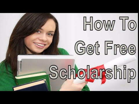 Free Scholarship Search - How To Get a Scholarship For College