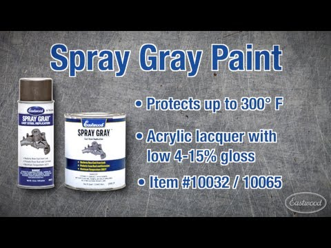 Spray Gray Automotive Paint from Eastwood - Match Original Colors!