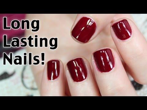 How to Get Long Lasting Nail Polish