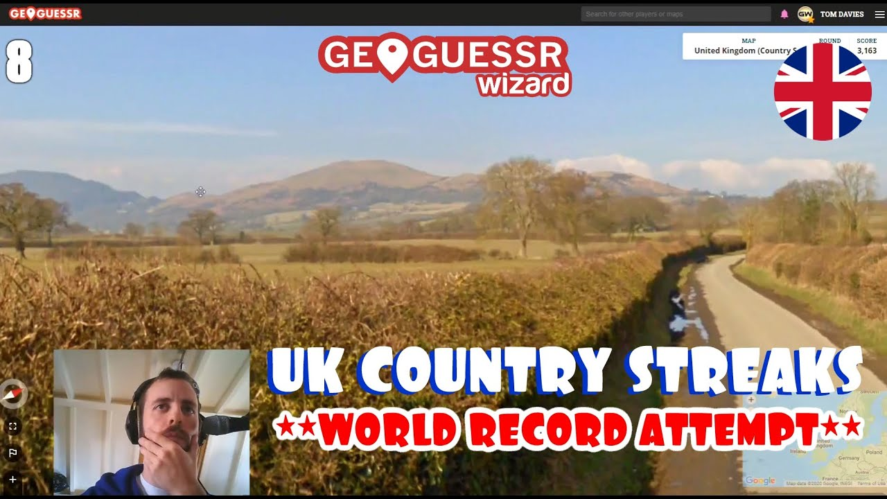 """I broke an official Geoguessr World Record! """"UK Country Streaks"""" (28 IN A ROW)"""