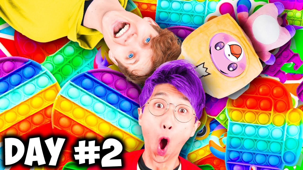 LankyBox LAST TO STOP PLAYING WITH THEIR FIDGET TOYS WINS $$$ PRIZE Challenge!?