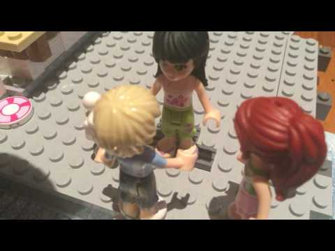 Lego Friends Stop Motion - Cruise Ship Adventure