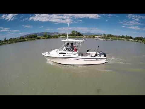 Mid summer fishing on Utah Lake