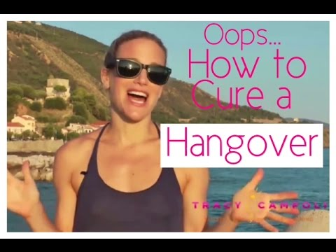 How to cure a Hangover FAST!