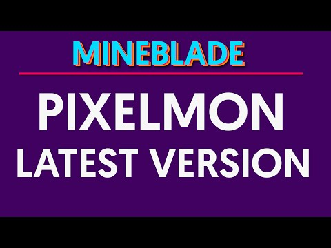 How To Install PixelMon Mod [Any Version]