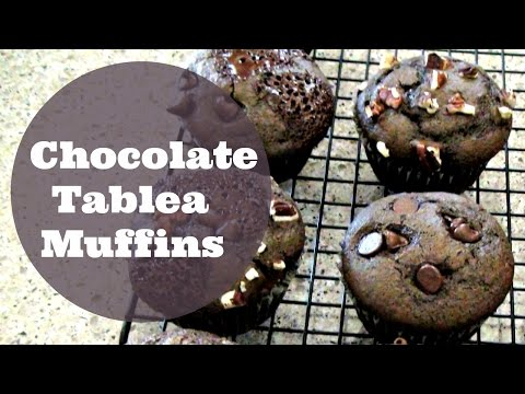 Chocolate Tablea Muffins