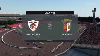 FIFA 20 | Santa Clara vs Braga - Liga Nos | 05/06/2020 | 1080p 60FPS