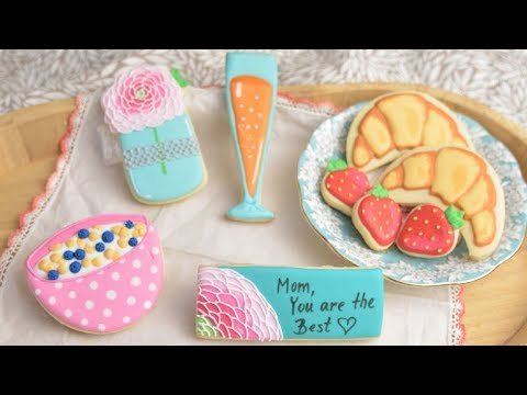 MOTHER'S DAY BREAKFAST IN BED COOKIES by HANIELA'S