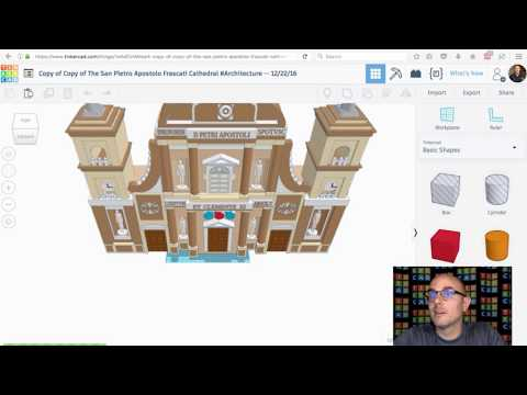 New Brick Editor in Tinkercad Live! Tinker2sday - Sept 5, 2017