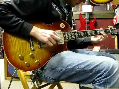 2007 Gibson Les Paul Standard Plus   LBS Dirty   Neck