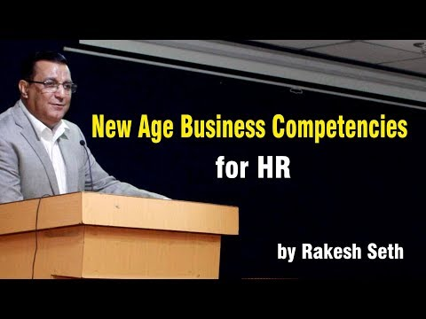 New Age Business Competencies for HR