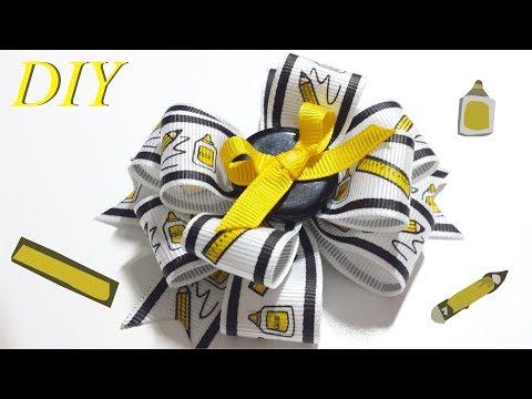 Como Hacer Lazos 🎀 DIY #122 Lazo Apilado Tutorial