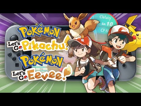 Pokemon Lets Go! Pikachu & Lets Go! Eevee -  10 Brand New Features!