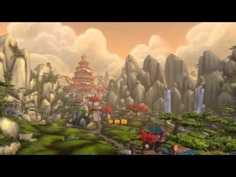 WoW: Mists of Pandaria Fly-Through