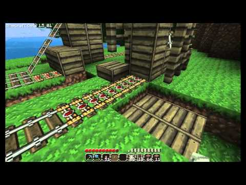 Minecraft Station 1.5_01 patch - using booster rails