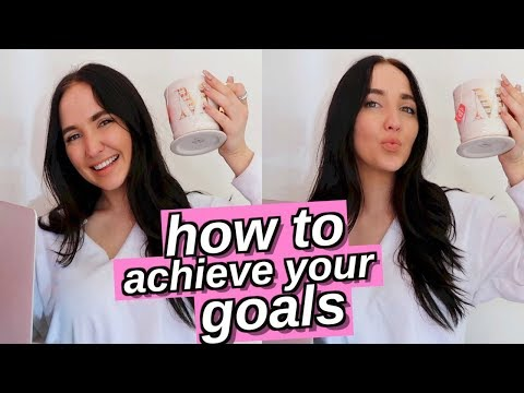 how to be productive and achieve your goals   how to have the best summer ever