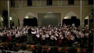 A Tribute to George Gershwin (arr. Koos Mark & Gert Buitenhuis) uitgevoerd door Philharmonie Sittard (NL) & Trachtenkapelle Molzbichl (A) o.l.v. Ingeborg Stijnen Solodrum: Jan Eijkenboom