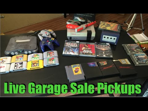Live Garage Sale Pickups #45 - The Magical Hangover Cure!