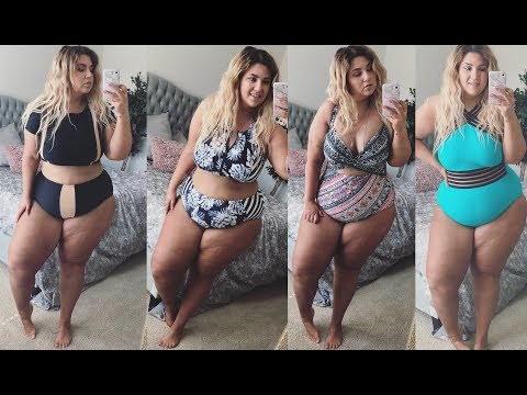 PLUS SIZE FASHION TRY ON HAUL | THIS IS THE BEST SWIMSUIT EVER! COLLECTIVE HAUL | Sometimes Glam
