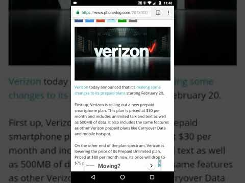 Verizon Prepaid Price Drop for Unlimited