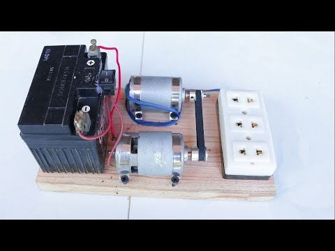 How to Make 220V Generator dynamo