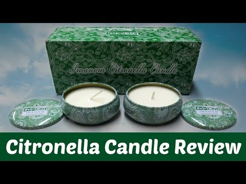 Citronella Candle Set - Review + Coupon Code!