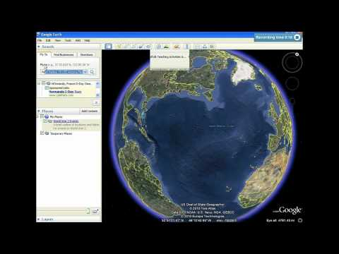 Google Earth Tours: Tutorial