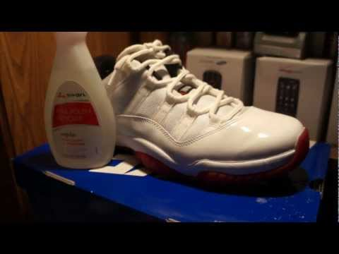 Jordan 11 Cleaning Tip(Removing Scuffs from Patent Leather)/Quick Update