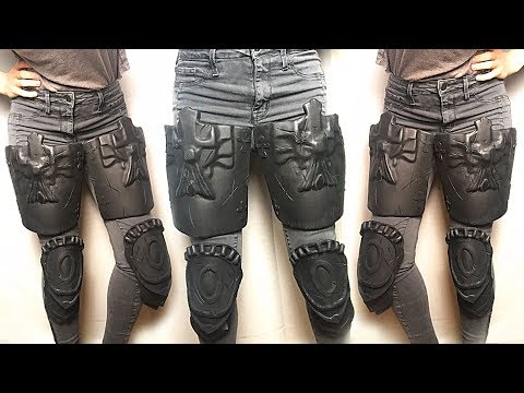 How to Make Easy Medieval Leg Armor [Crusader Cosplay from Diablo III]