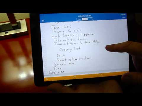 Livescribe 3 Video Review