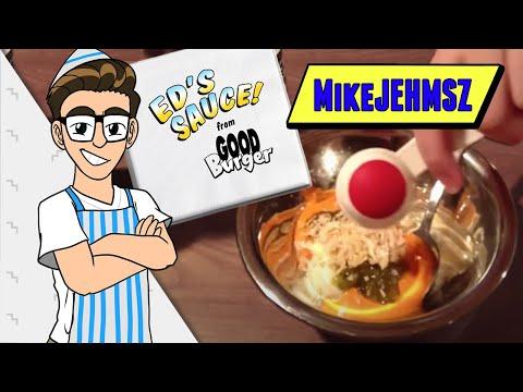 Good Burger Week: Ed's Sauce On-Camera Tutorial