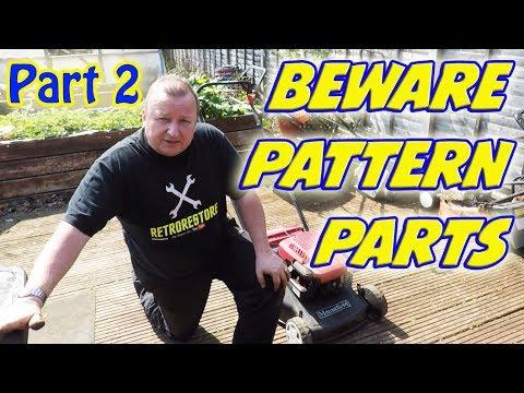 Part 2 BEWARE   Cheap Pattern Parts  Lawnmower Carb Fail