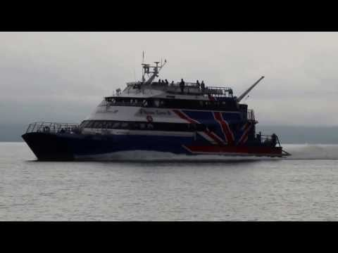 Victoria Clipper III  High Speed Ferry between Seattle WA and Vancouver BC