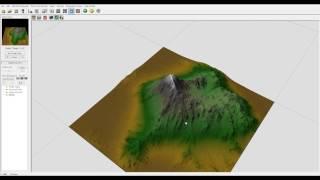 World Machine tutorial, Mountain Lake part one, World