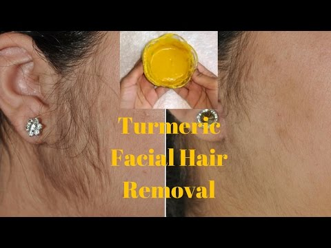 How To Remove Facial Hair Using Turmeric | Remove Acne Scars & Make Your Skin Fair