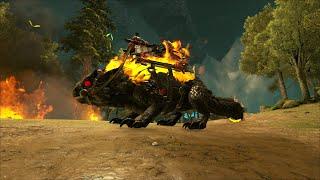 ARK: Extinction Mod #61 - Hủy Diệt Thế Giới Khủng Long Với Thứ Vũ Khí Mang Tên Demonic Thorny Dragon