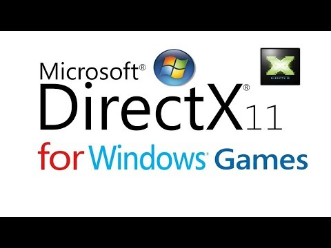 DirectX 11 download & Install for Windows 8, 7,Vista, Xp