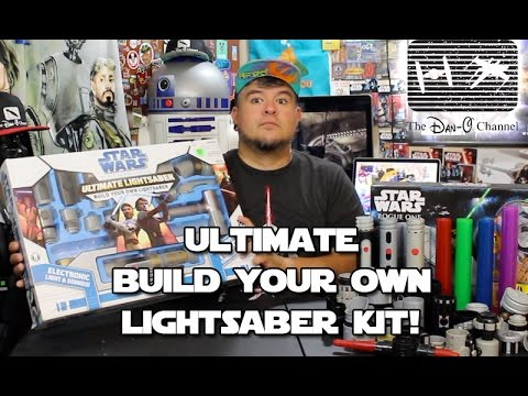 Star Wars Clone Wars Ultimate Build Your Own Lightsaber Kit The Dan-O Channel