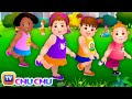 Head Shoulders Knees Toes Exercise Song For Kids