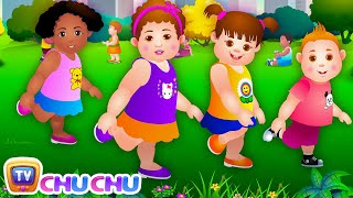 Head Shoulders Knees & Toes - Exercise Song For Kids