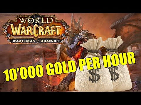 Gold Farming How To Gold Guide World of Warcraft: Warlords of Draenor 2k Gold In 10 Mins