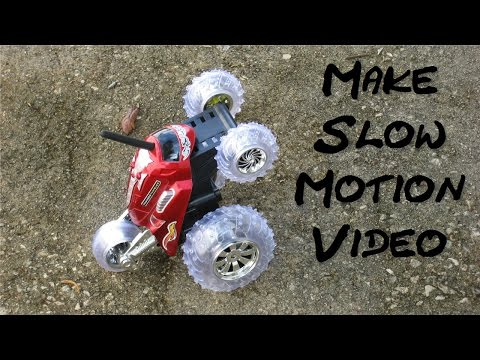 Windows Movie Maker tutorial & Windows Movie Maker tips and tricks with Slow Motion Video