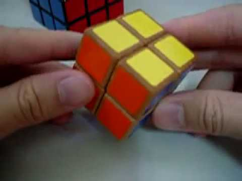 WOODEN 2x2x2 Rubik's Cube