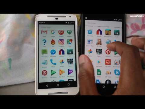 Nexus 6p VS Moto G - SPEED TEST!!