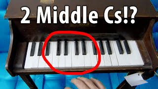 This Piano's Unique Defect Makes it Impossible to Play
