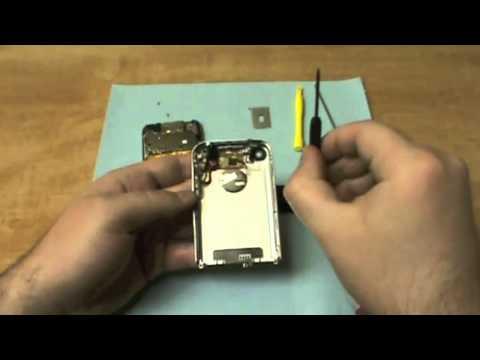 Simple How To 2G Apple iPhone Headphone Jack Repair Video