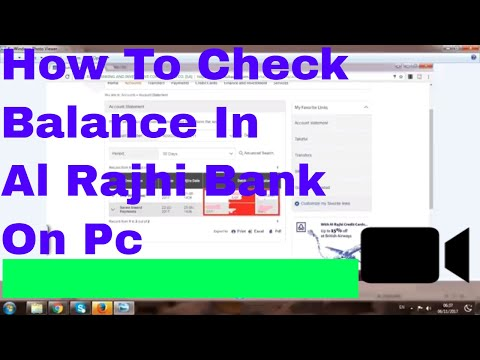 Al Rajhi Bank Check Account Balance On Pc